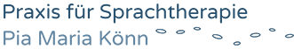 Praxis für Sprachtherapie Pia Maria Könn Logo